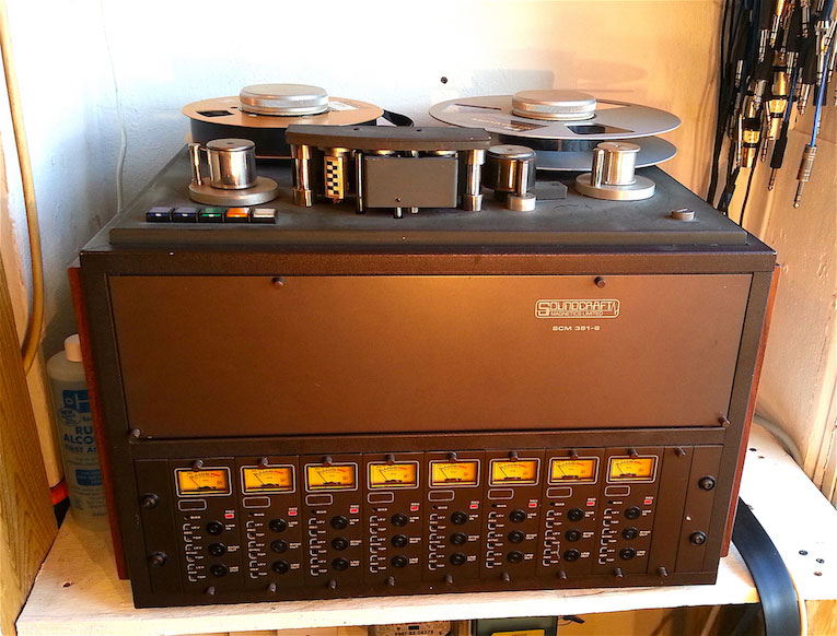 tape machine recorder 8 track